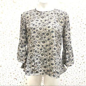 Banana Republic Factory Floral Blouse